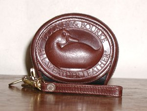 WB53 Zipalong Coin Purse - Burnt Cedar