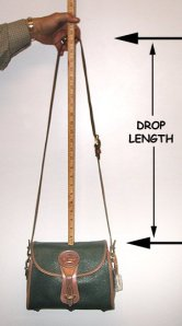 Drop Length of Dooney & Bourke Shoulder Bags
