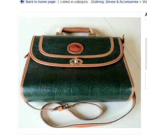 "Are these ""Dooney & Bourke"" briefcases on eBay fakes?"