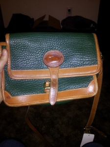 I bought this Dooney & Bourke bag at a thrift store - how much is it worth?