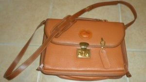 Is this a rare or fake Dooney & Bourke briefcase?