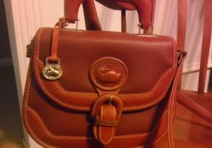 front of purse