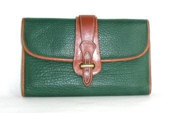 Authentic Dooney & Bourke Wallet with Equestrian Style Closure