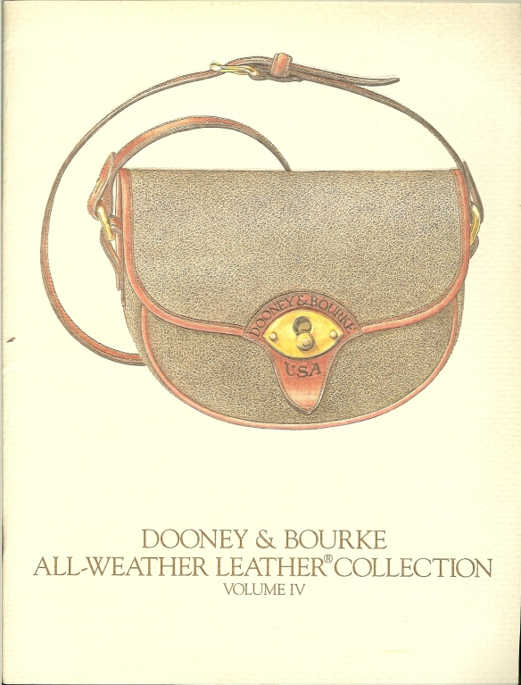 Summer 1987 Dooney & Bourke catalog