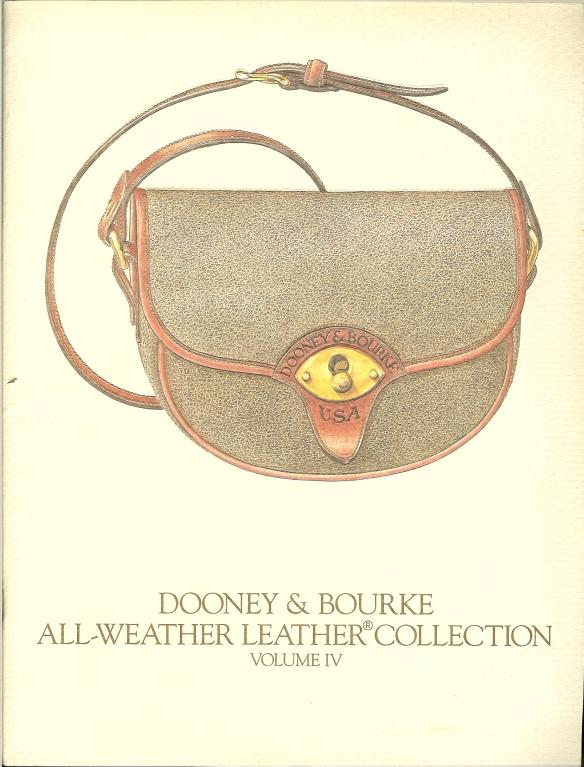 Summer 1987 Dooney & Bourke catalog