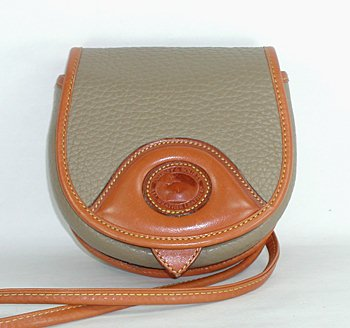 Vintage Belt Bag Style R700 Taupe with British Tan trim